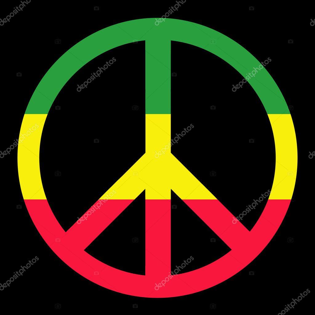 Colorful Peace Symbol Stock Photo Georgios 1409269