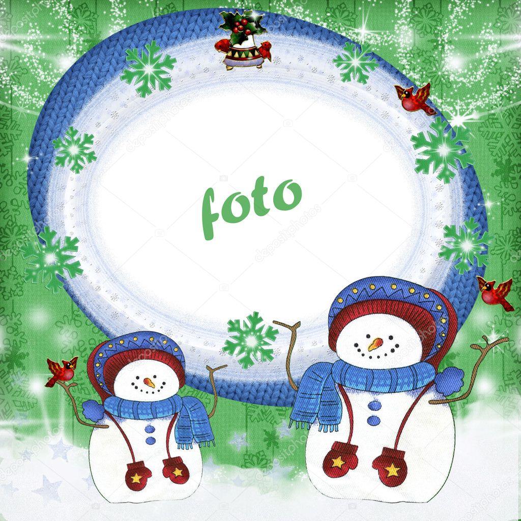 marco de alegría de invierno 2 — Foto de stock © chiffa #1265318