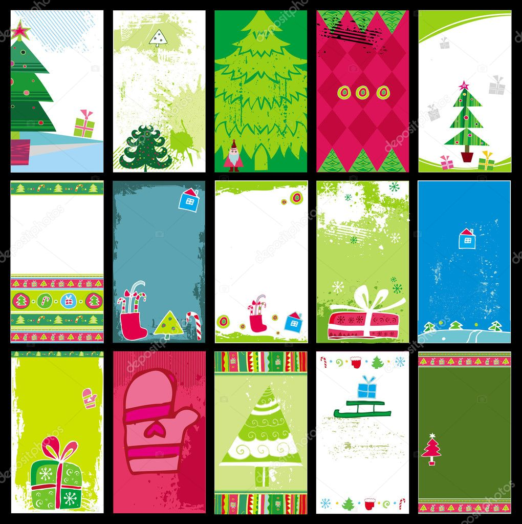 Weihnachtskarten Business.Business Weihnachtskarten Stockvektor Dianka 1224504