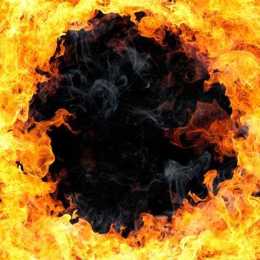 """Картина, постер, плакат, фотообои """"огонь"""", артикул 1225919"""