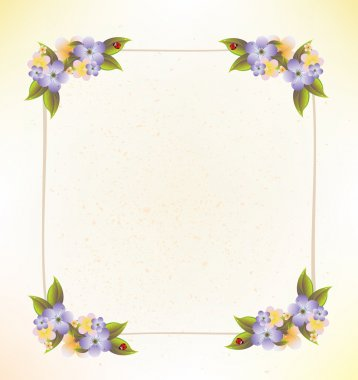 Floral frame