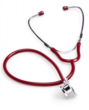 Stethoscope isolated on white background stock vector