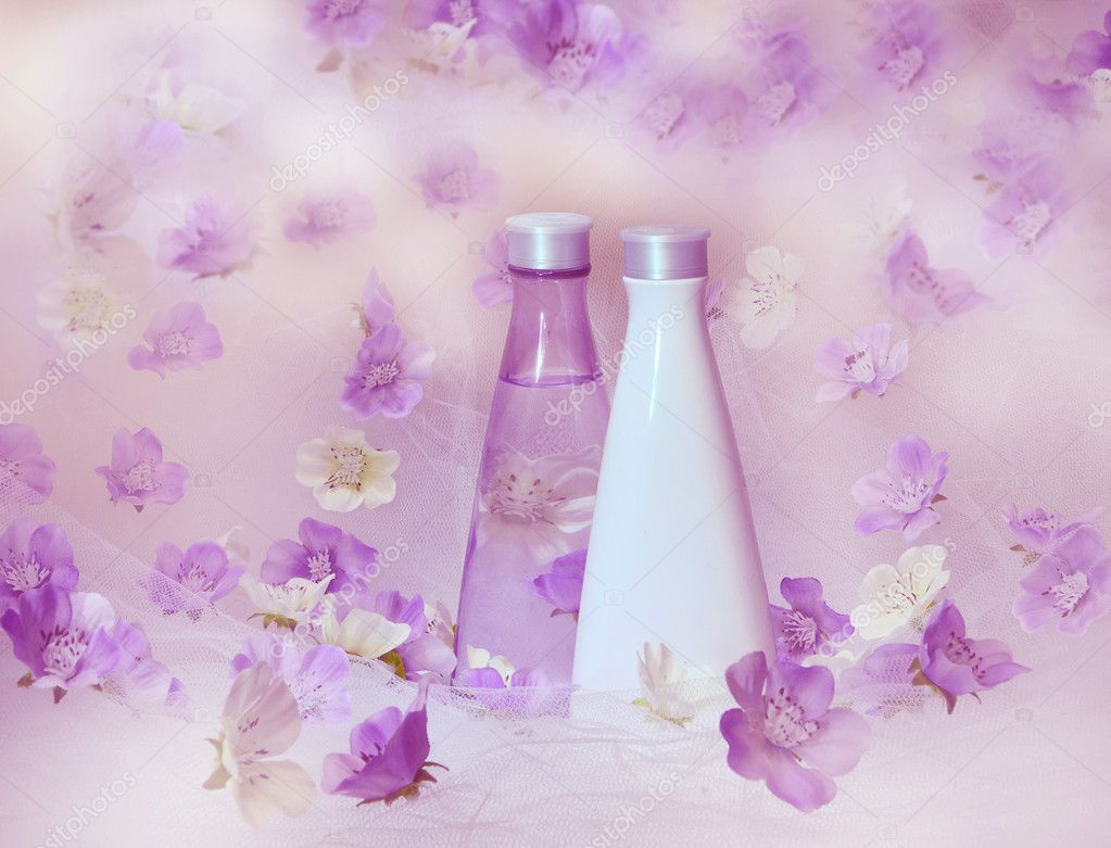 Beautiful perfume background