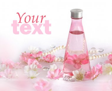 Beautiful perfume background