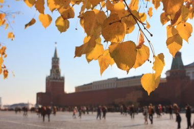 Autumn view of Moscow, Kremlin