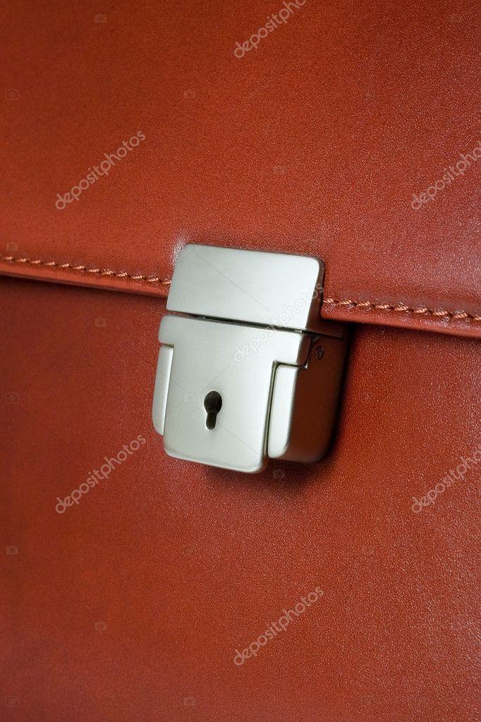 Business brief-case key lock