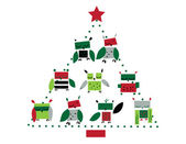 Fényképek Karácsonykor baglyok