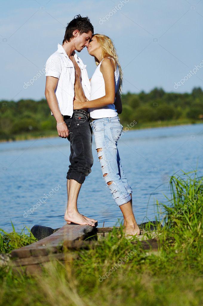 Enamoured pair