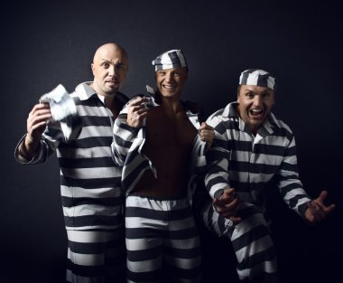 Three prisoners.