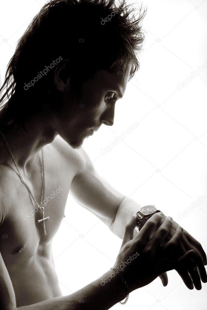 Смотреть разделся мужчина фото 658-289