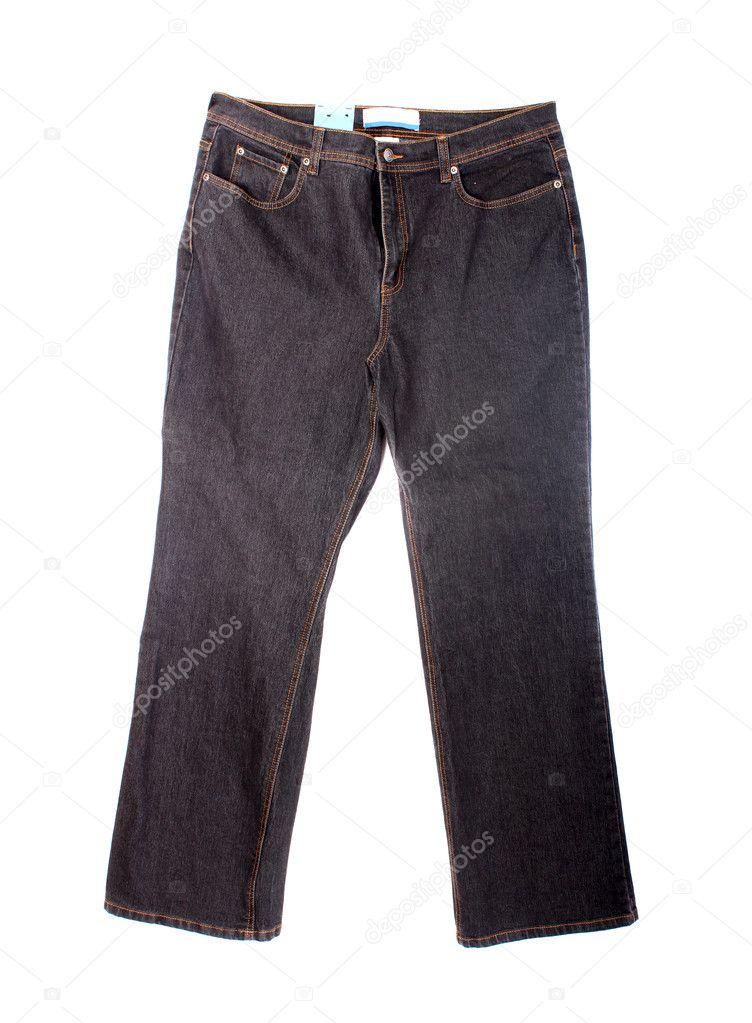 25c3e5e0e5 A szabadban kőmosott straightleg pár fekete nadrág jean — Fotó szerzőtől ...