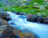 Fényképek hegyi patak