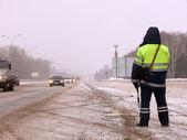 Photo Policeman clothes uniform