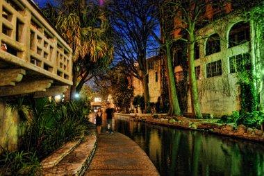 San Antonio by Night, Texas, U.S.A.