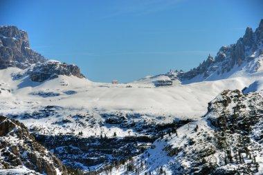 Alps Winter, Dolomites, Italy, 2007