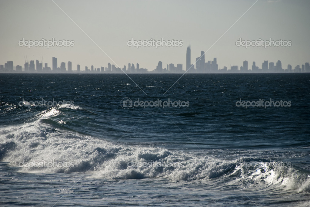 Surfers Paradise Skyline, Queensland, Au