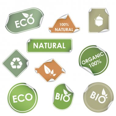 Eco recycling labels