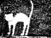 Plaster cat