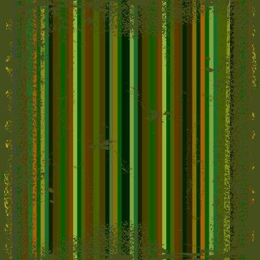 Dark green grunge metallic stripes