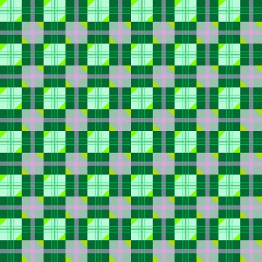 Nice texture with green geometric extend