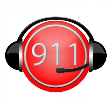 911 headphone sign