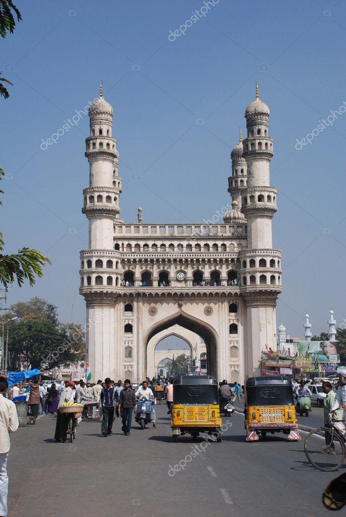 Charminar, Hyderabad Old City – Stock Editorial Photo