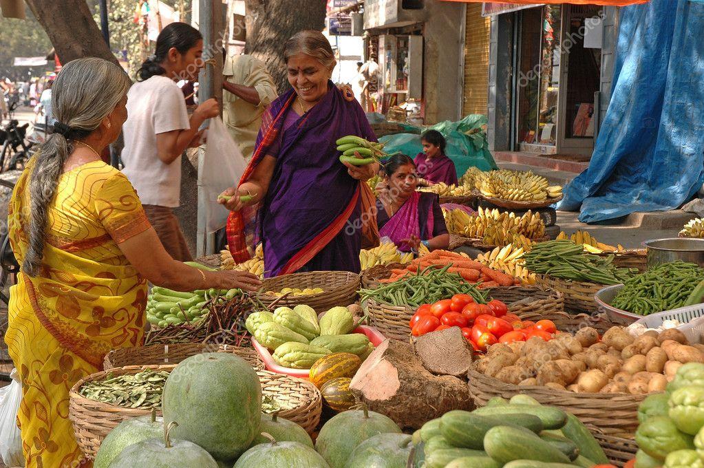 Road Side Vegetable Market