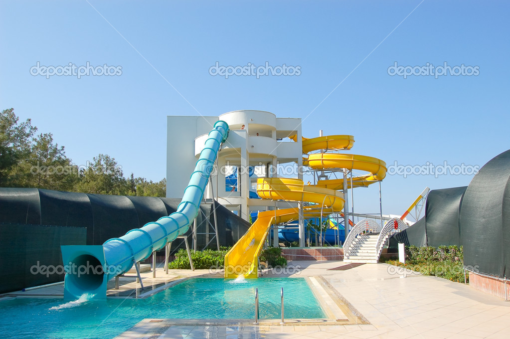 aqua park antalya turkey stock photo slava296 1284384. Black Bedroom Furniture Sets. Home Design Ideas
