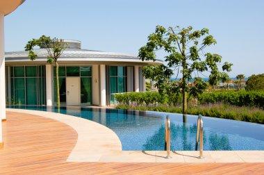 Modern villa at turkish resort