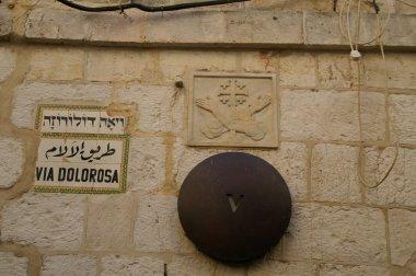 Via delarosa - last jesus way