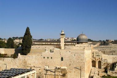 Al Aqsa mosque and minaret - islam in a