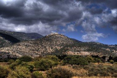 Golang heights landscape in israel