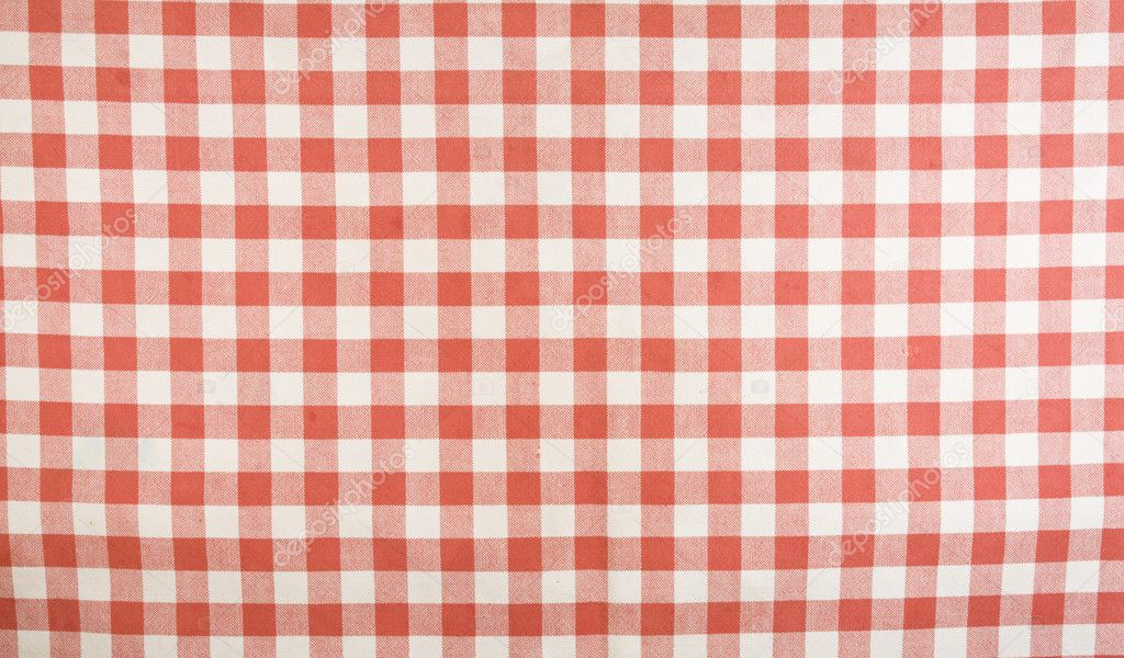 Motif Nappe Vichy Rouge Et Blanc Photo 2001280