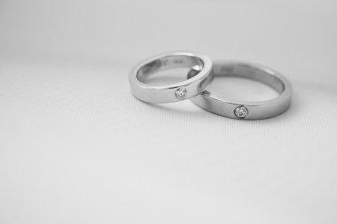 Wedding rings of love