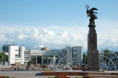 Ala-Too Square in central Bishkek