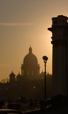 Silhouettes of St.-Petersburg
