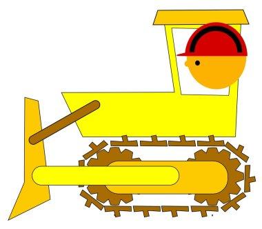 Bulldozer driver