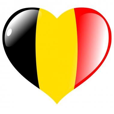 "Картина, постер, плакат, фотообои ""бельгия в сердце "", артикул 1386545"