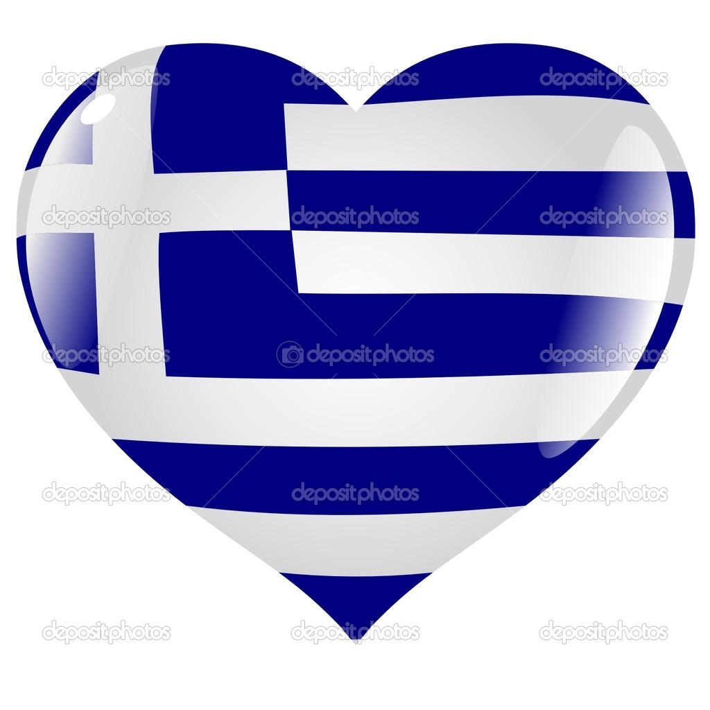 Greece in heart stock vector perysty 1386587 greece in heart stock vector biocorpaavc Image collections