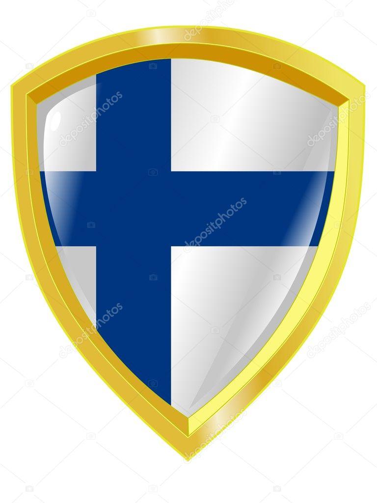 フィンランドの国章 — ストック...