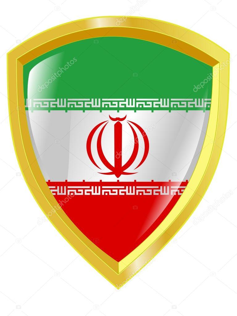 Golden emblem of iran stock vector perysty 1440913 golden emblem of iran stock vector buycottarizona Choice Image