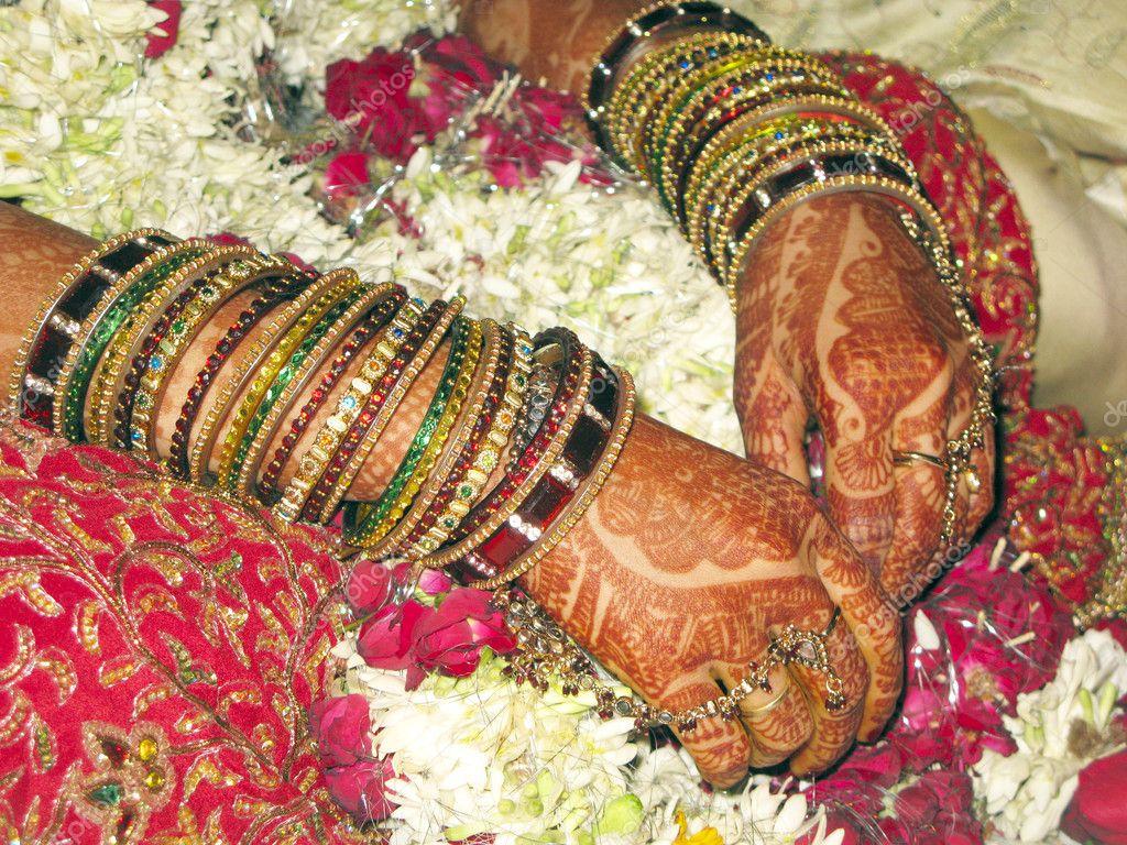 Photographie Maquillage — ©1299108 Mariée De Indien Mariage Nikonite HWD92EI