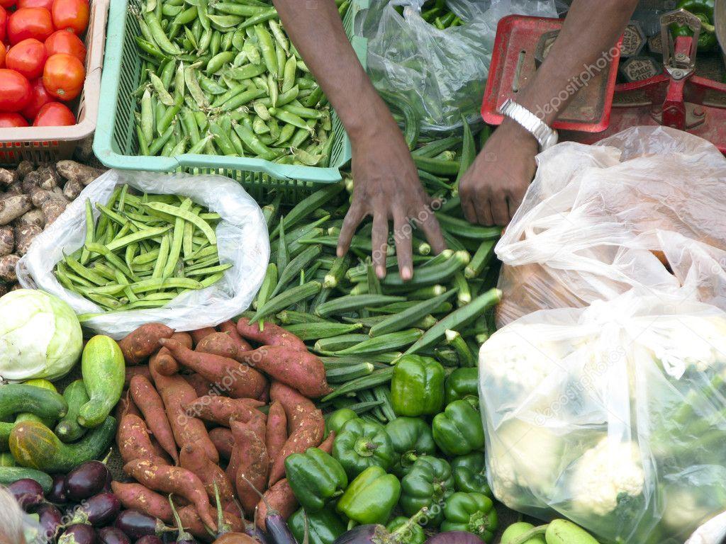Selling Fresh Vegetables