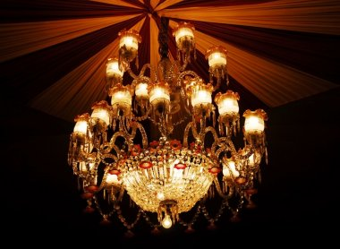 Home interiors Chandelier on ceiling