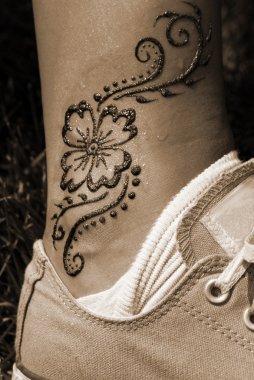 Leg Tattoo Fashion