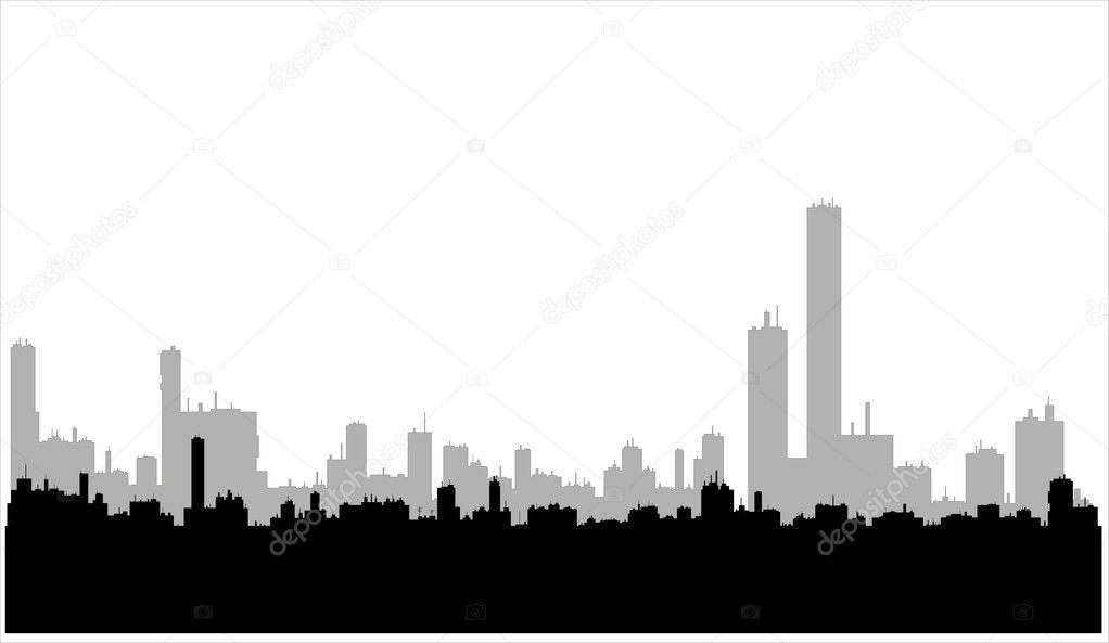 building silhouettes — stock vector © va_nadium #1386822