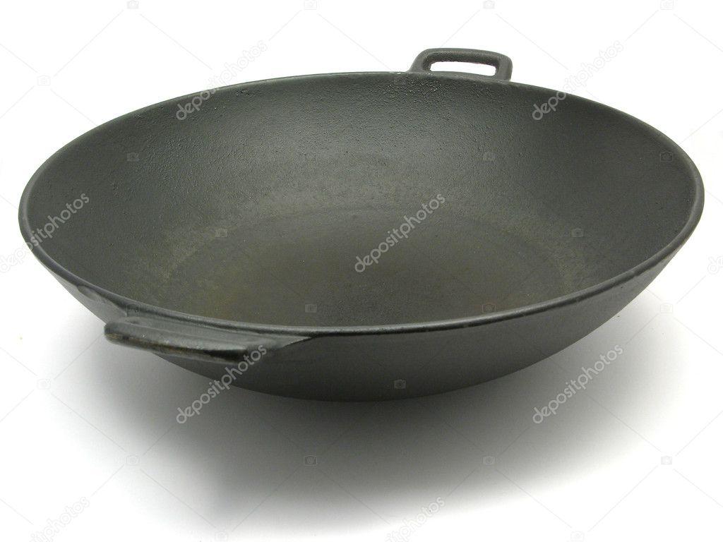 Grote zwarte kook
