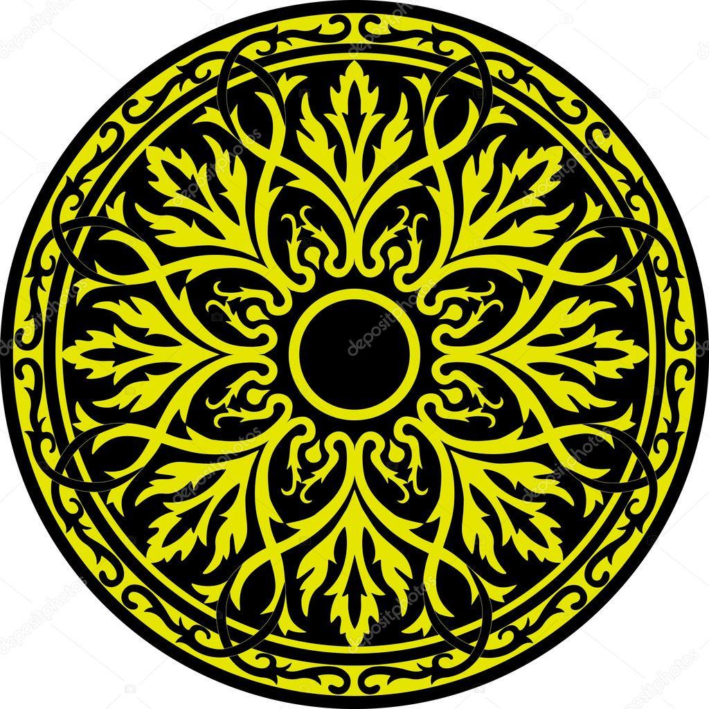 Circle Ornament 2