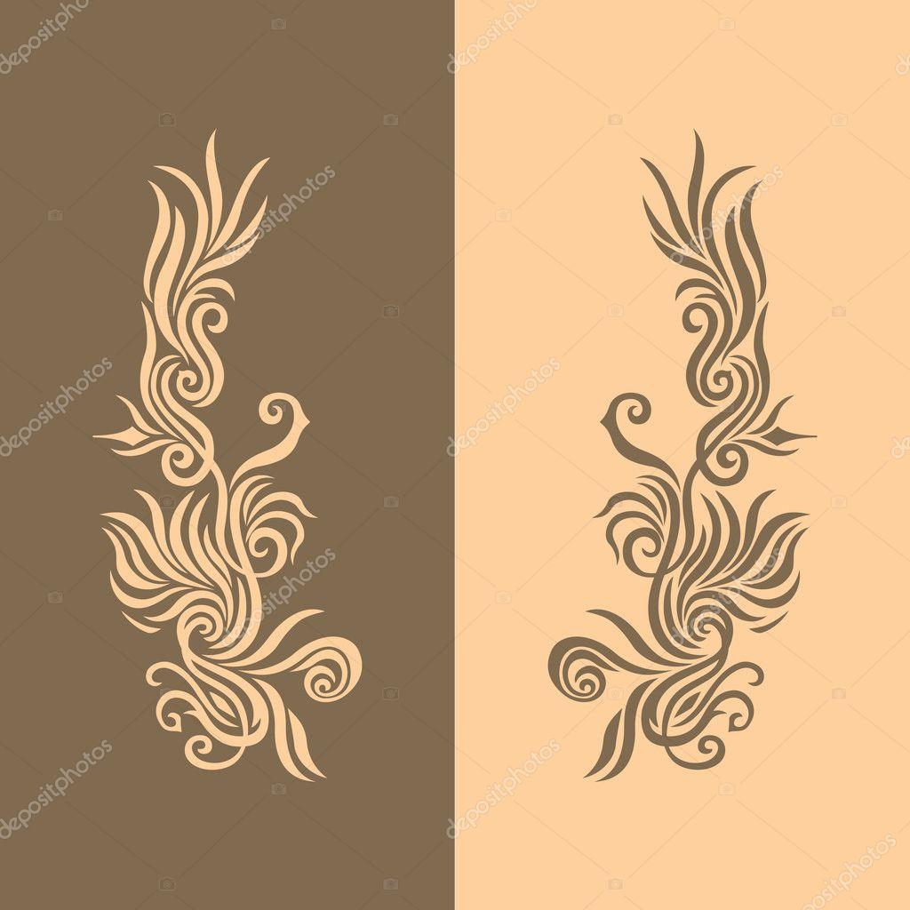 Brown Golden Background 2