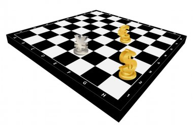 Currency chess